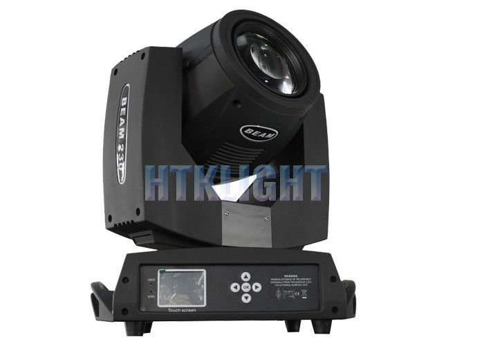 Strong Beam Effect 230W 7R Beam Moving Head Light With 16 Facet Prism / 8 Facet Prism