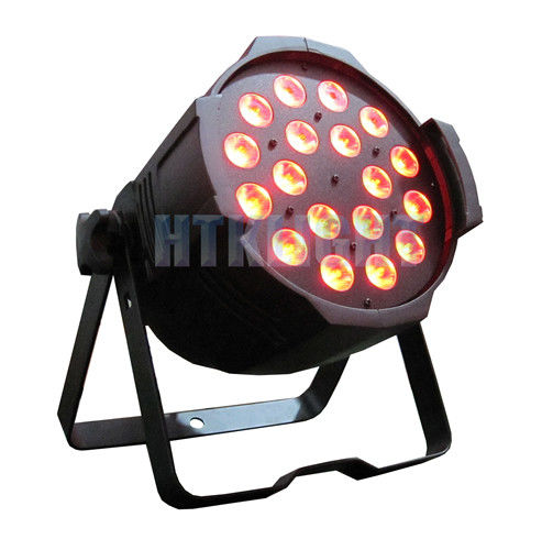 3in1 RGB LED Stage Light , Stage Lighting Led Par Can Lighting With Flicker Free