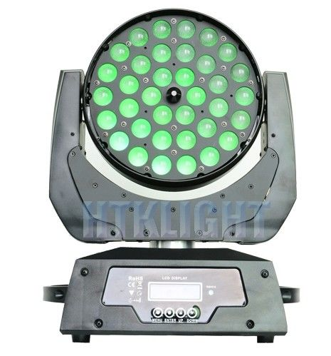 Waterproof LED Stage Wash Lights With Led Washer 36 X 10 Watt 4in1 Rgbw Leds