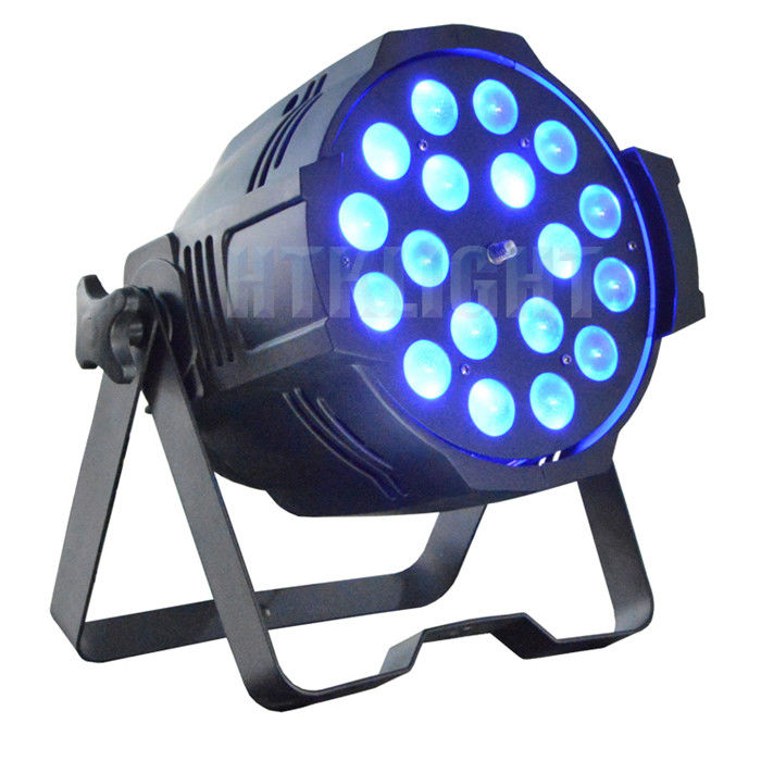 Powerful 6in1 Led Moving Head Zoom , Dmx Led Par Lights Smooth Dimming Curves