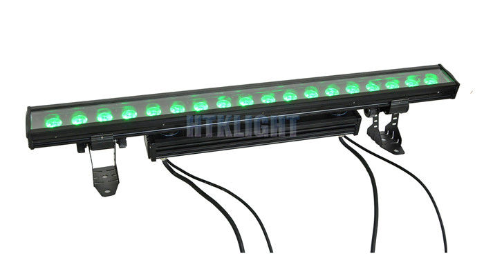 60Hz LED Flood Light Wall Washer , 18 x 10W Individual Control LED Linear Bar