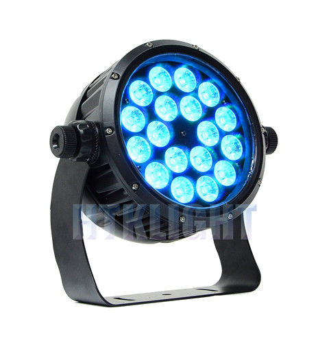 RGBWA + UV 6 In1 18 X 12Watt LED Wall Washer Lights High Brightness