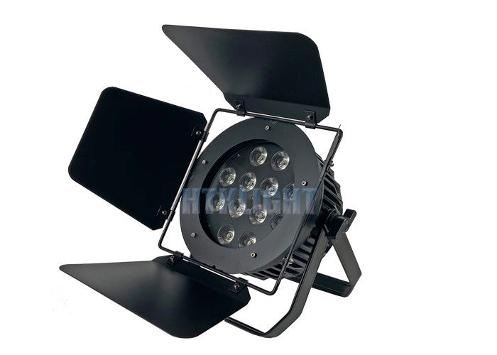 8CHs 10W Led Theatre Spot Lights 32 Bit Smooth Dimming